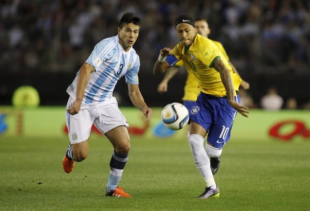 Argentina x Brasil - Eliminatórias da Copa - América do Sul 2015 ... 6de704ea02b7c