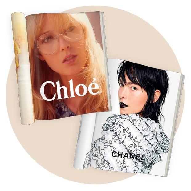Chloé e Chanel (Foto: Reprodução)
