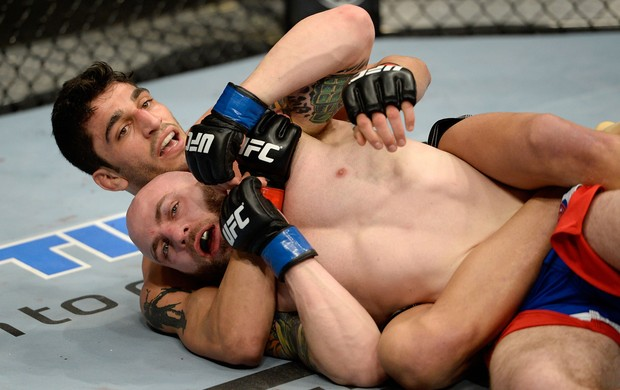MMA - UFC Fight Night - Justin Edwards x Ramsey Nijem (Foto: Getty Images)