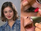 Filha de maquiador, Sophie Charlotte diz: 'não saio sem máscara para cílios'