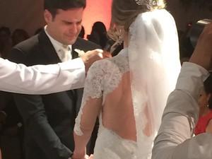 Casamento deRodrigo Scarpa e Gabi Baptista (Foto: Reprodução/Instagram)