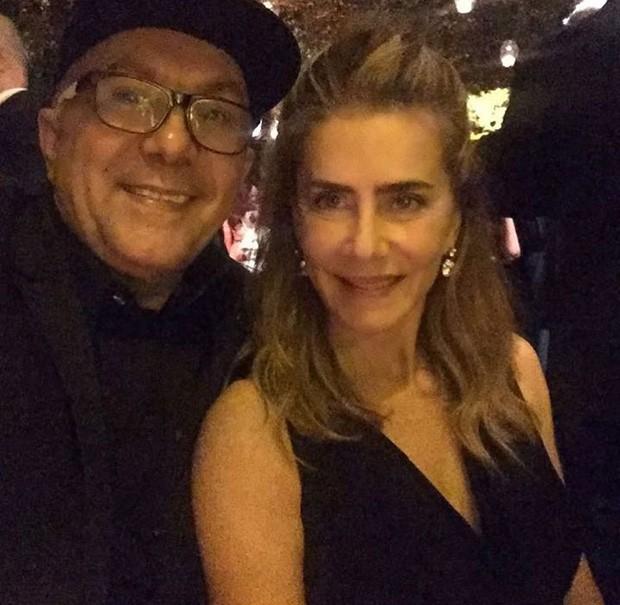 Maitê Proença também foi ao casamento de Glenda Kozlovski (Foto: Reprodução/Instagram)