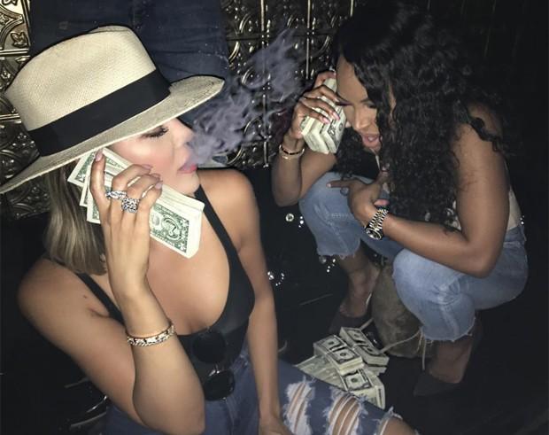 Khloé Kardashian e Malika  (Foto: Instagram/Reprodução)