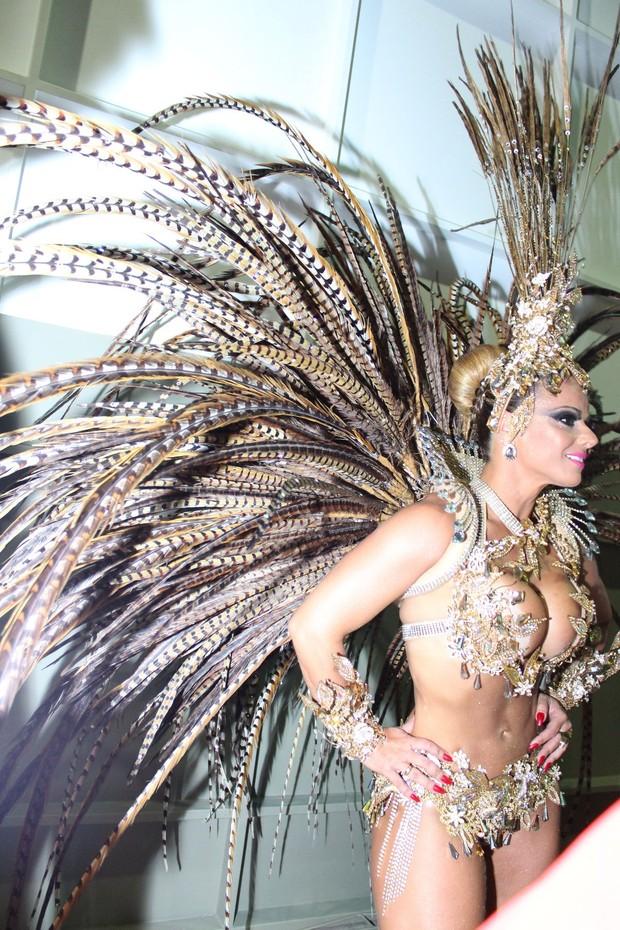 Viviane Araújo (Foto: UMMERFLORIPA/MAURO VAZ – PMF)