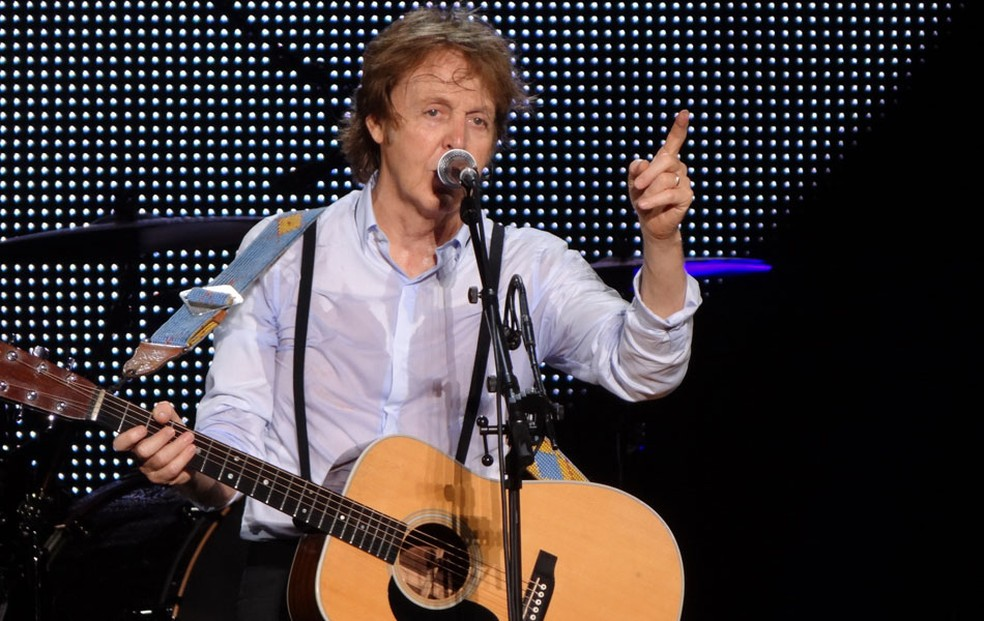 Show de Paul McCartney no Recife (Foto: Luna Markman / G1)