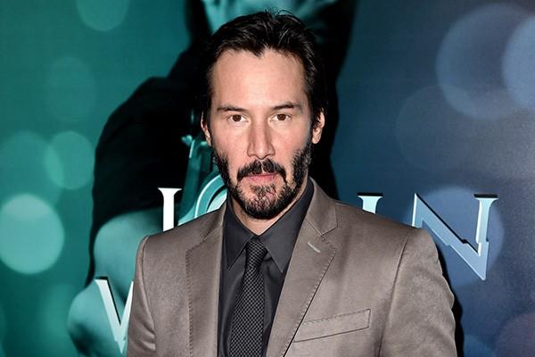 """Keanu Reeves tem medo do escuro - e não """"do jeito filosófico"""", afirmou o astro. (Foto: Getty Images)"""