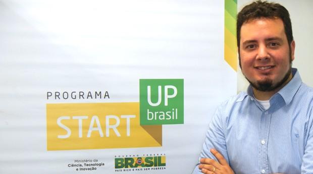 Vitor Andrade, novo gestor do programa Start-Up Brasil  (Foto: Divulgação)
