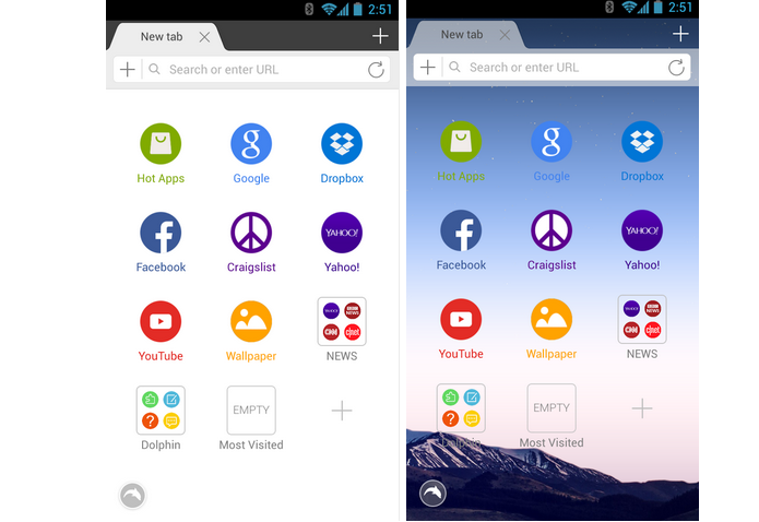 Dolphin Browser é um navegador para Android (Foto: Divulgação)