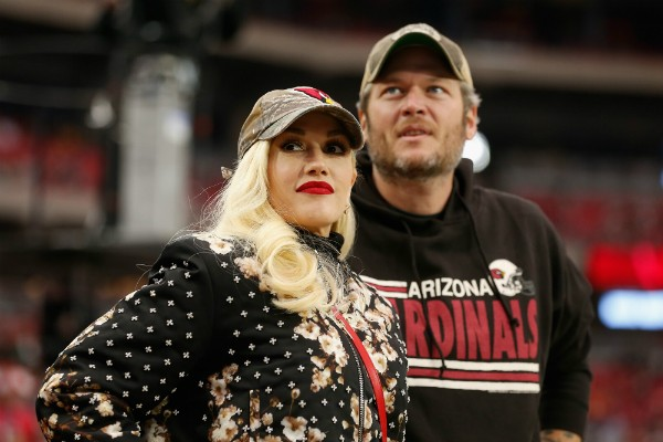 A cantora Gwen Stefani e o cantor Blake Shelton (Foto: Getty Images)