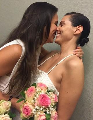 Angelis Borges e Nina Fisher (Foto: Instagram / Reprodução)