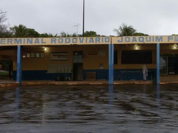 Rodoviária de Ivinhema MS (Foto: Polícia Civil MS/Divulgação)