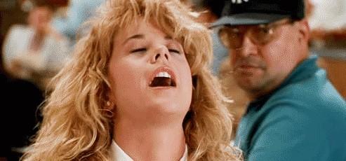 Meg Ryan simula orgasmo solitário em 'Harry e Sally'