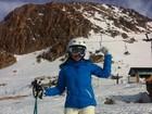 Paula Fernandes viaja para esquiar: 'Finalmente conheci a neve'