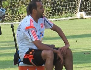 Alecsandro treino Flamengo (Foto: Thales Soares)