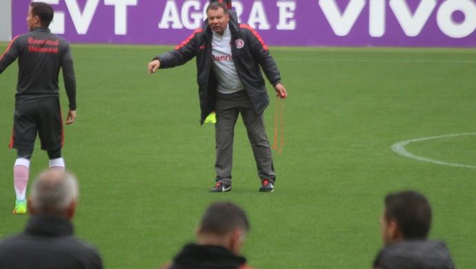 Internacional Inter Celso Roth treino Inter (Foto: Eduardo Deconto/GloboEsporte.com)