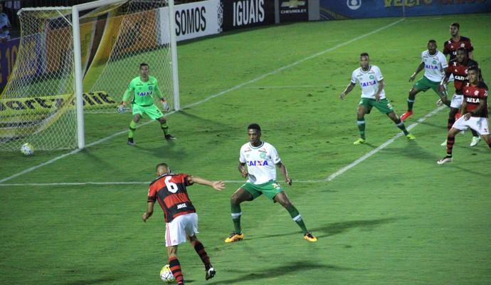 Chapecoense x Flamengo (Foto: Cleberson Silva/Chapecoense)