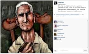 Otaviano Costa lamenta a morte de Ariano Suassuna (Foto: Instagram / Reprodução)