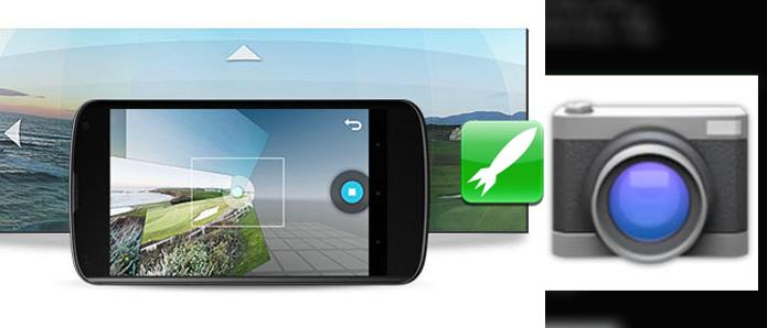 Veja como fazer para executar a câmera do Android com o botão Home (Foto: Montagem/Edivaldo Brito)