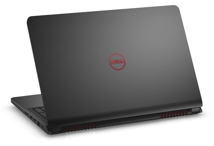 Notebook gamer da linha Inspiron traz carcaça emborrachada (Foto: Divulgação/Dell)