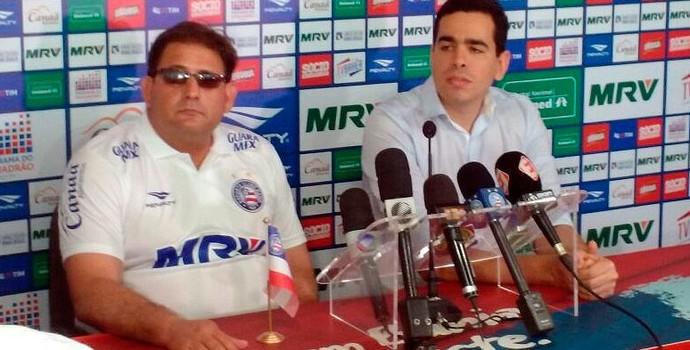 Guto Ferreira; Bahia; Marcelo Sant'Ana (Foto: Thiago Pereira)