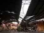 Ventos de 122 km/h provocam estragos na cidade de Canoas (RS)