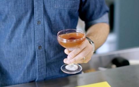 Drinque Manhattan clássico