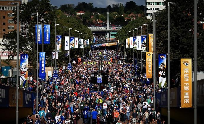 Indianapolis Colts Jacksonville Jaguars NFL (Foto: Ben Hoskins/Getty Images)
