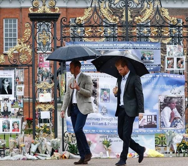 Paláco de Kensington faz homenagem à Diana  (Foto: Reprodução Instagram)