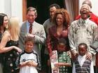 Ex-Spice Girl relembra encontro animado com Nelson Mandela