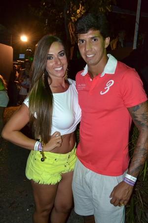 Nicole Bahls e o namorado, Victor Ramos (Foto: Tony Jr./Agência Fred Pontes/Divulgacao)