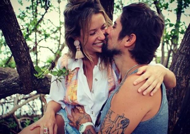 Juliana Didone e o marido, Flávio Rossi (Foto: Reprodução/Instagram)