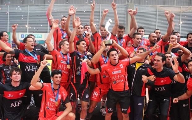 Monte Cristo x Atibaia Superliga B final Goiânia (Foto: Fernando Vasconcelos)
