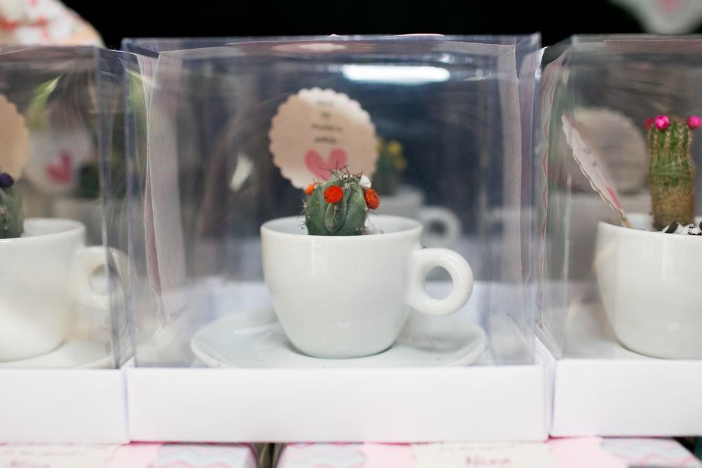 Lembrancinha do chá da Carolina (Foto: Reprodução / Karin Michels Photography)