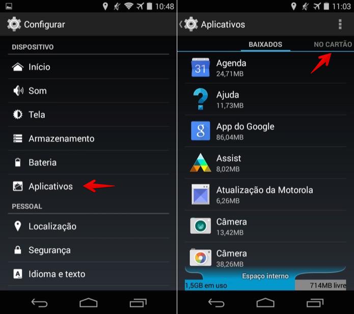 Acesse as configurações do Android (Foto: Reprodução/Helito Bijora)  (Foto: Acesse as configurações do Android (Foto: Reprodução/Helito Bijora) )
