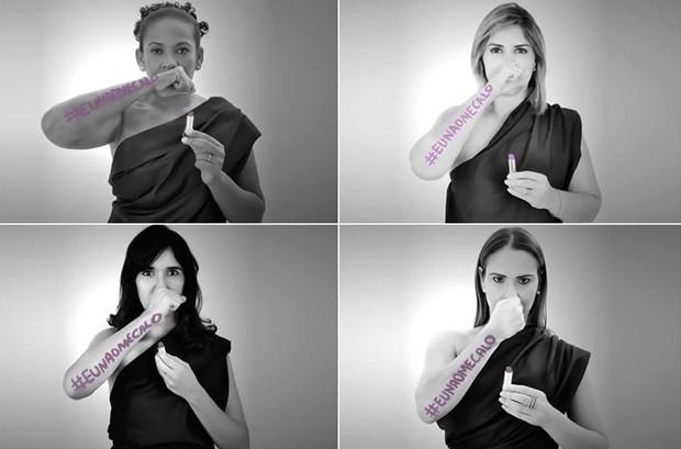 Tenente da PM Célia Melo, professora do IFRN Andrezza Tavares, delegada Paoulla Maués e a defensora pública Disiane Costa são algumas das mulheres fotografadas para a exposição  (Foto: Kalina Veloso)