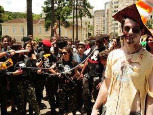 Zombie Walk em Petrópolis 2 (Foto: Alexandre Carius/Tribuna de Petrópolis)