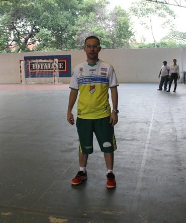 Giuliano Ramos Técnico do Caic Balduíno (Foto: Joana D'arc/GloboEsporte.com)