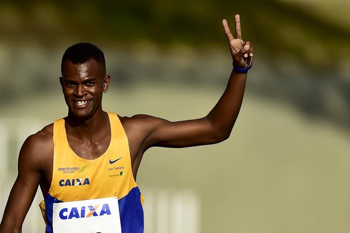 Vitor Hugo dos Santos no Troféu Brasil de atletismo (Foto: Wagner Carmo/CBAt)