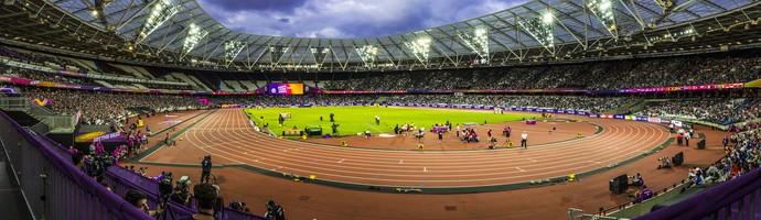 Estádio Olímpico de Londres - Mundial de Atletismo Paralímpico (Foto: Marcio Rodrigues/MPIX/CPB)