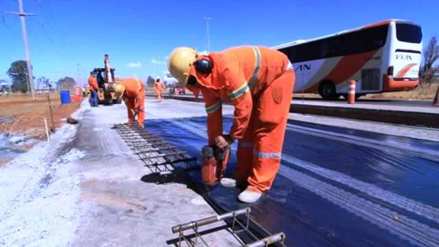 obras BRT Brasília (Foto: GDF / Divulgação)