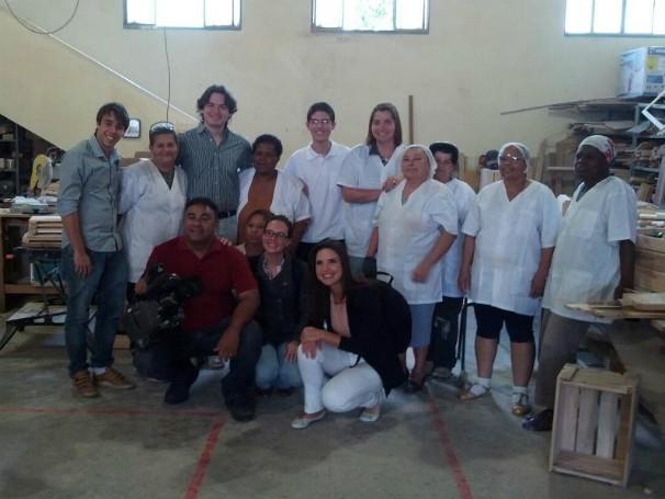A equipe do BNI (Foto: Divulgação)