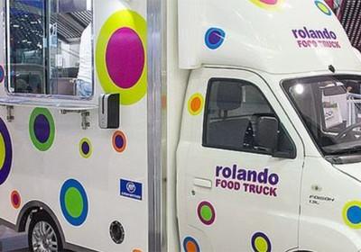 Food truck do Rolando Massinha (Foto: Reprodução )