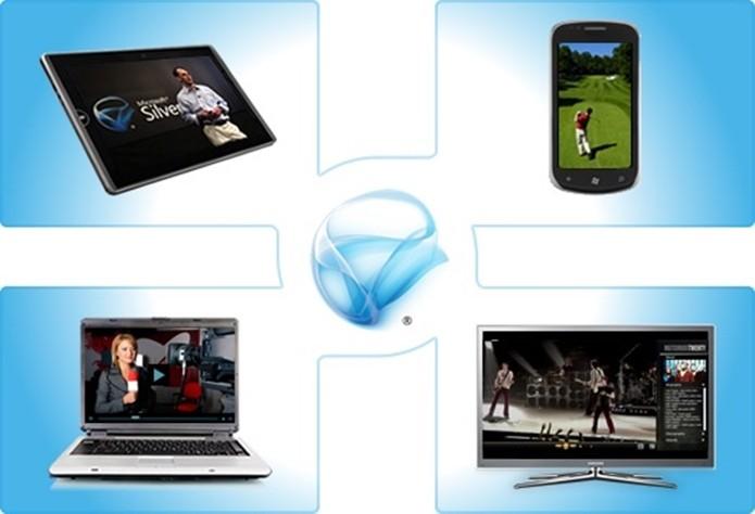 Silverlight é um plugin gratuito concorrente do Flash (Foto: Divulgação/Microsoft)