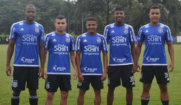 Seis destaques da Ponte na Copinha passam a treinar com o time principal 393dc7912c99f