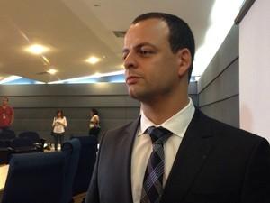 Delegado João Pinho, da Polícia Federal (Foto: Gabriel Luiz/G1)