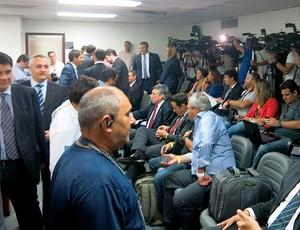 julgamento STJD (Foto: Edgard Maciel de Sá)