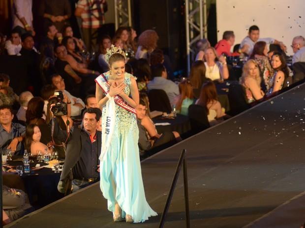 Miss Amazonas 2014, Ytala Narjjara, é natural de Ipixuna (Foto: Mário Oliveira/Semcom)