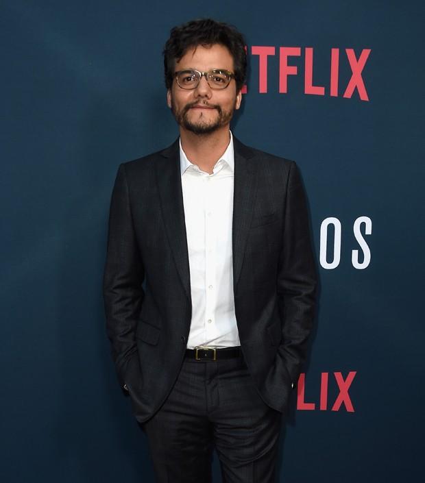 Wagner Moura na première da segunda temporada de Narcos (Foto: Alberto E. Rodriguez/Getty Images)