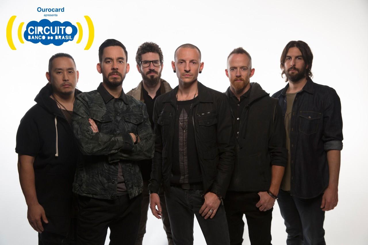 Linkin Park com logo Circuito (Foto: Divulgao)