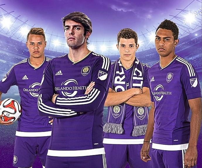 Jogadores Orlando City e Kaká (Foto: Reprodução / Instagram)